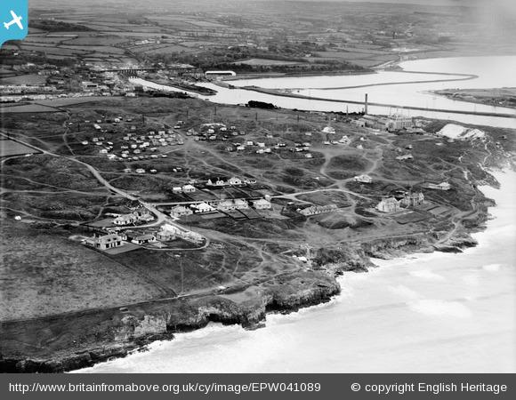 Hayle Towans Holiday Camp and environs, Hayle, 1933